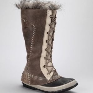 Sorel Cate the Great tall leather boots size 9